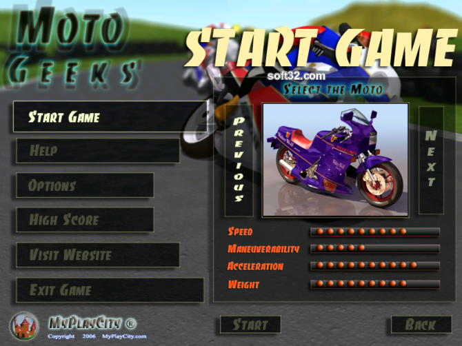 Moto Geeks Screenshot 2