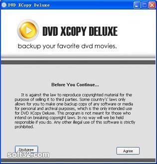 1st DVD XCopy Deluxe Pro Screenshot 2