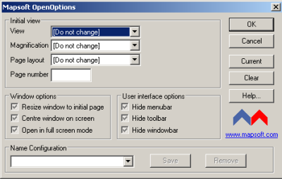 OpenOptions Screenshot 1