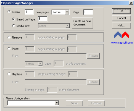 PageManager Screenshot 1