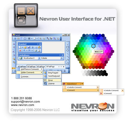 Nevron User Interface for .NET Screenshot