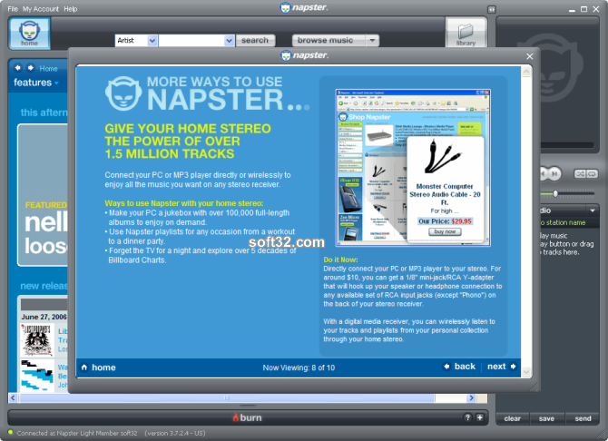 Napster Premium Screenshot 3