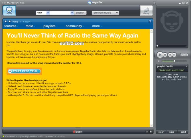 Napster Premium Screenshot 4