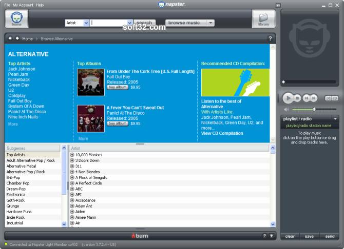 Napster Premium Screenshot 5