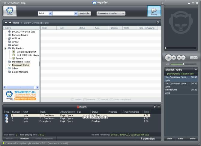 Napster Premium Screenshot 6