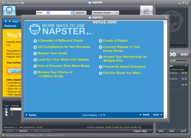 Napster Premium Screenshot 7