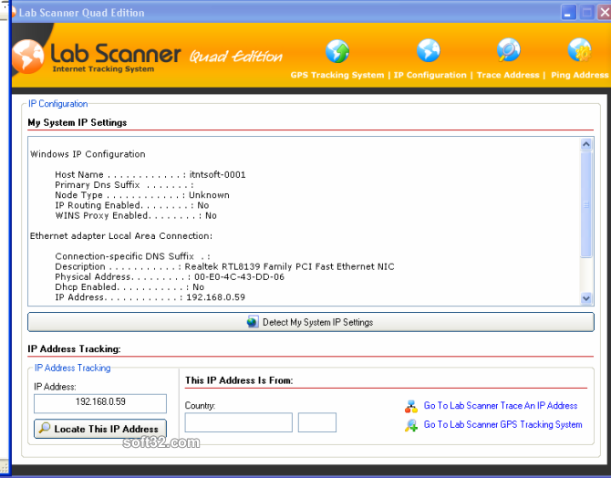 Lab Scanner Screenshot 2