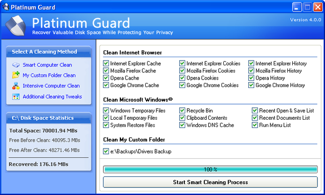 Platinum Guard Screenshot 1