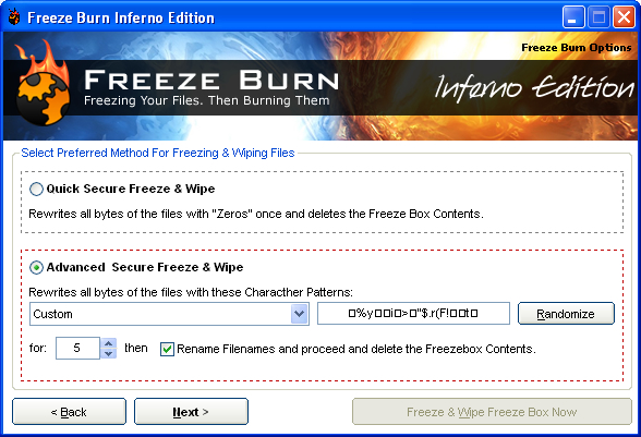 Freeze Burn Screenshot