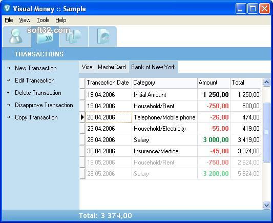 Visual Money Screenshot 1