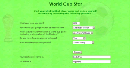 World Cup Star Screenshot