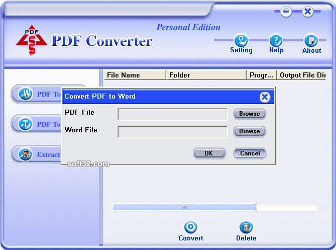 PDF Converter Personal Edition Screenshot 2