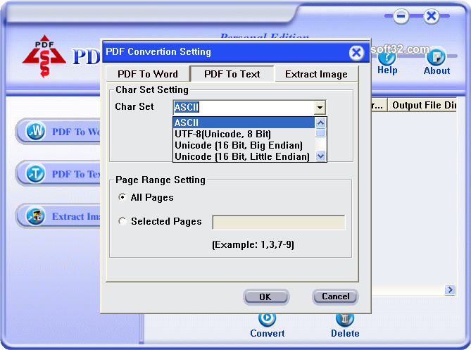 PDF Converter Personal Edition Screenshot 4