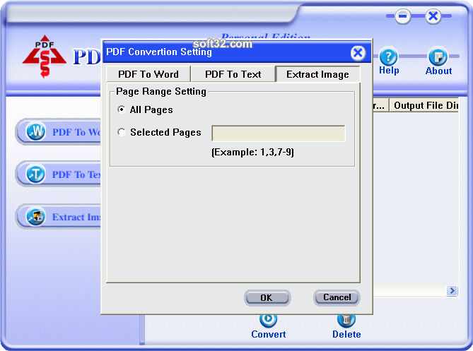 PDF Converter Personal Edition Screenshot 5