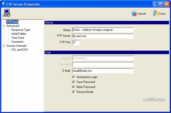 FTP Commander Deluxe Screenshot 6
