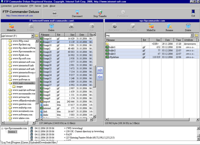 FTP Commander Deluxe Screenshot 1