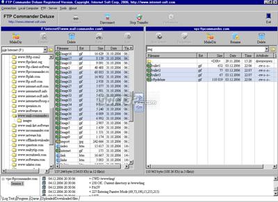 FTP Commander Deluxe Screenshot 3