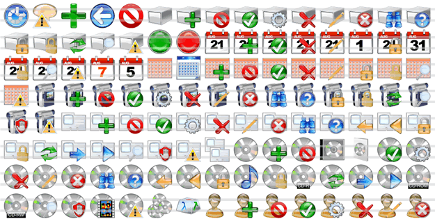 Vista Icon Collection Screenshot