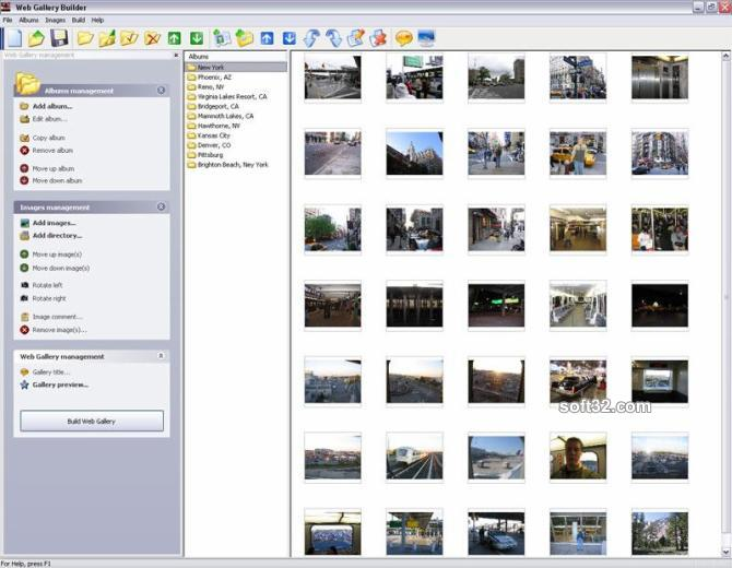Web Gallery Builder Screenshot 3
