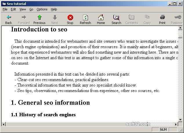 Seo tutorial Screenshot 3