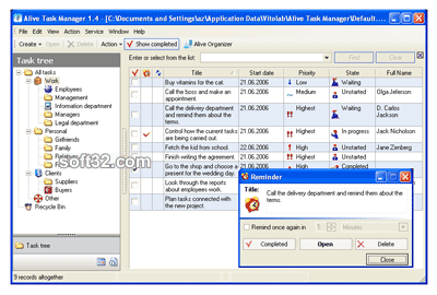 Alive Task Manager Screenshot 3