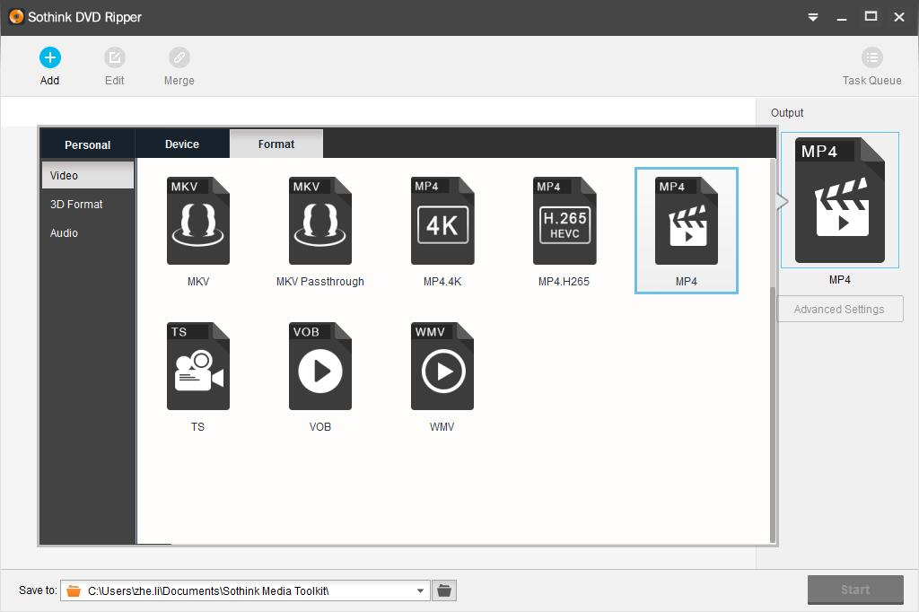 Sothink DVD Ripper Screenshot 6