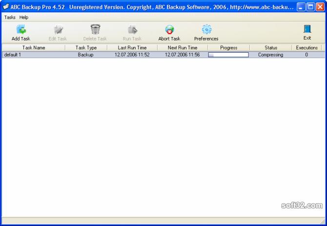 ABC Backup Pro Screenshot 4
