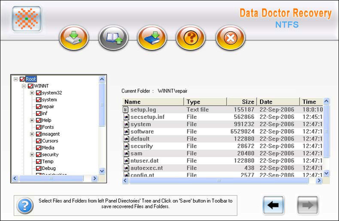 Deleted Windows Partition Data Restore Screenshot 1