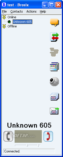 Brosix Communicator Screenshot 7