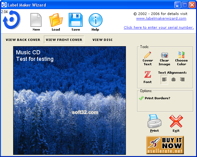 DVD and CD Label Maker Wizard Screenshot 5