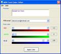 MSN Font Color Editor 1