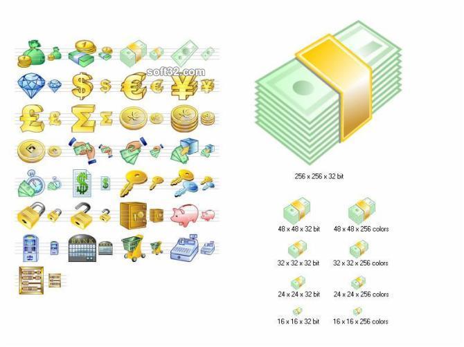 Money Icon Set Screenshot 3