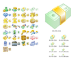 Money Icon Set 1