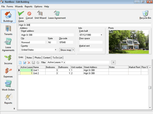 RentBoss Single User Screenshot