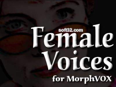 Female Voices - MorphVOX Add-on Screenshot 3
