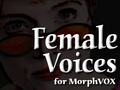 Female Voices - MorphVOX Add-on 1