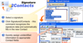 Signature2Contacts for Outlook 1
