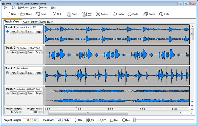 Acoustic Labs Multitrack Plus Screenshot 1