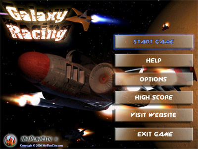 Galaxy Racing Screenshot