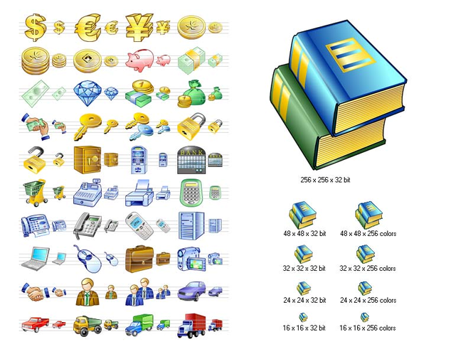 Business Icon Set Screenshot 1