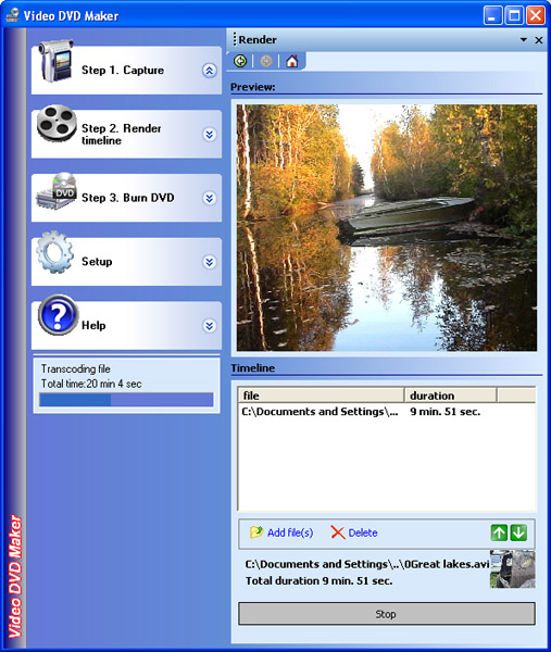 Video DVD Maker FREE Screenshot