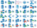 Database Icon Set 1