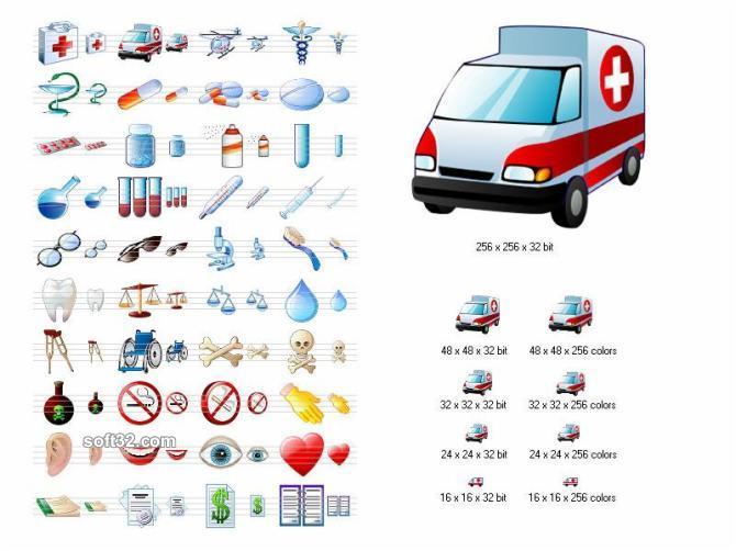Medical Icon Set Screenshot 3