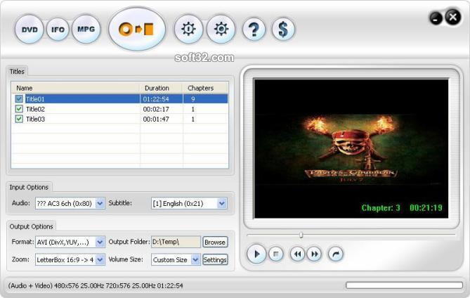 123 DVD Ripper Screenshot 3
