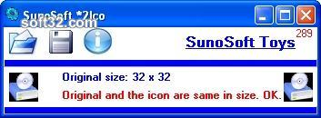 SunoSoft *2Ico Screenshot