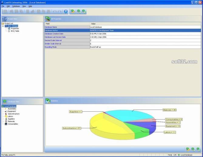 CostOS Estimating Standard Edition Screenshot 3