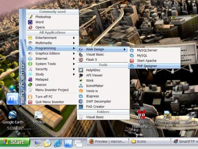 Menu Inventor Screenshot 3