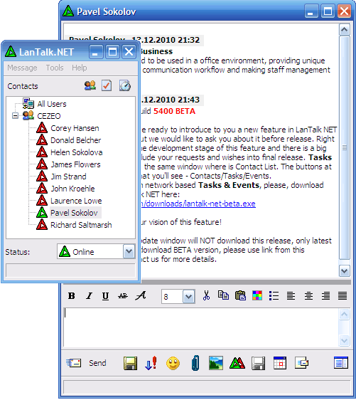 LanTalk NET Screenshot 1
