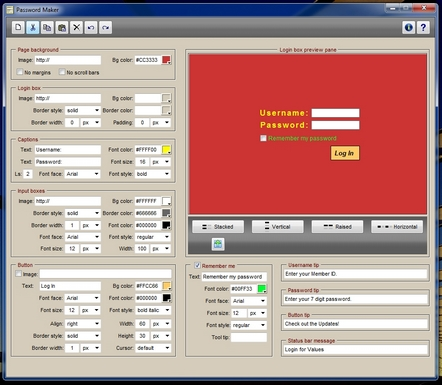 Password Maker Screenshot
