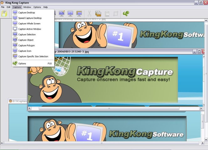 King Kong Capture Screenshot